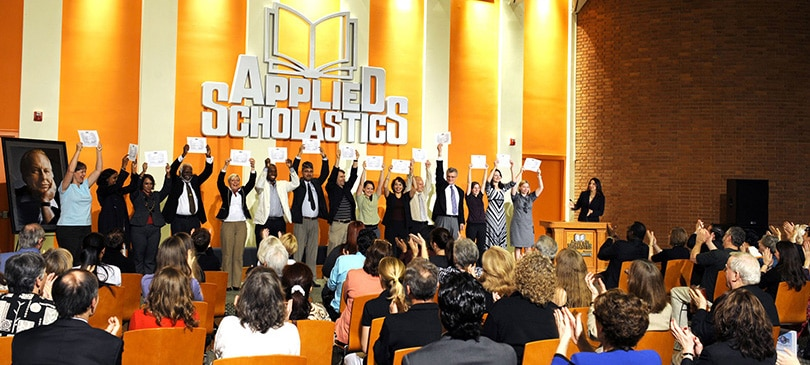 Applied Scholastics graduates